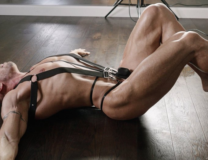 I'm a bit tied up today #bsdm https://t.co/FGHuLwozxV