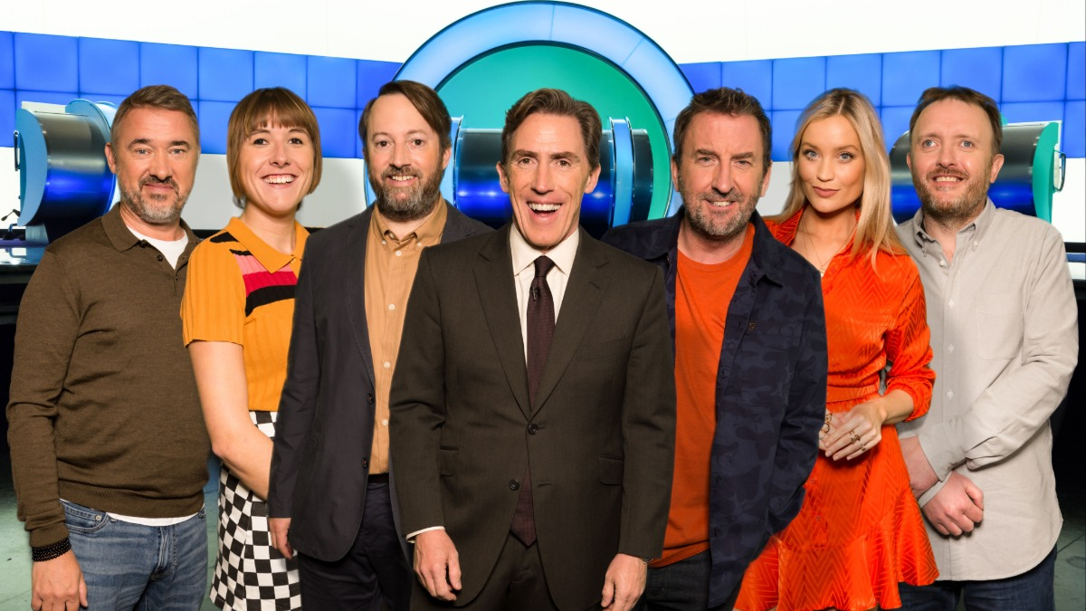 Which of our celebrities smuggled themselves secretly into a different BBC quiz this week, without the others knowing? 👀 Find out on Would I Lie to You? Tonight at 9pm on @BBCOne and @BBCiPlayer