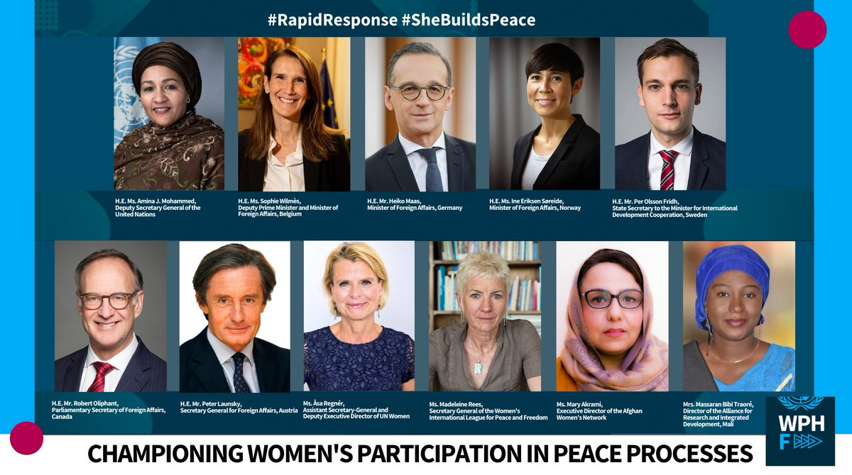 📣 Our Deputy ED @regner_asa is joining an incredible lineup of speakers at this week's launch of the @wphfund  #RapidResponse Window!   Here's how to tune in 🔗