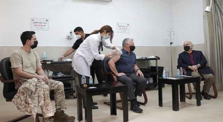 #Jordan's king Abdullah II receives COVID-19 vaccine