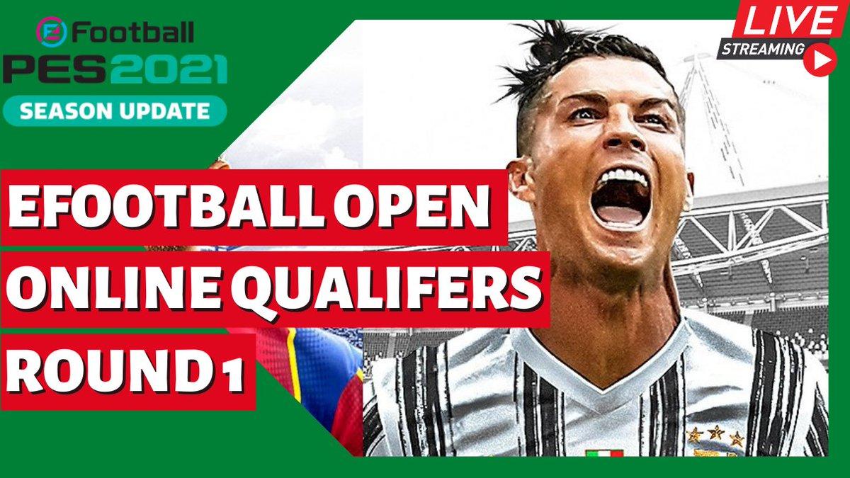 🎆 C'est parti les amis!!!! 👇👇👇👇 🔴Live eFootball Open 21 - Online Qualifers Round 1 - Présentation et Test de Man U 📺 📺 📺  #eFootballPES2021 #efootballopen
