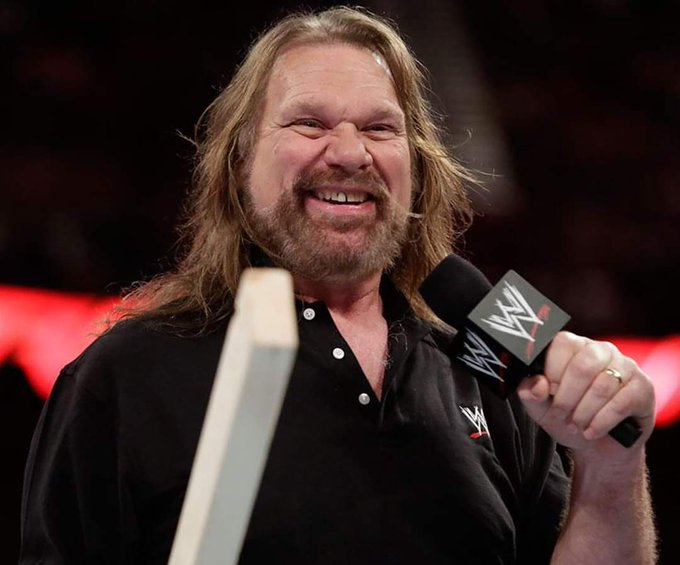 "Happy 67th Birthday to the first winner ""Hacksaw\"" Jim Duggan"