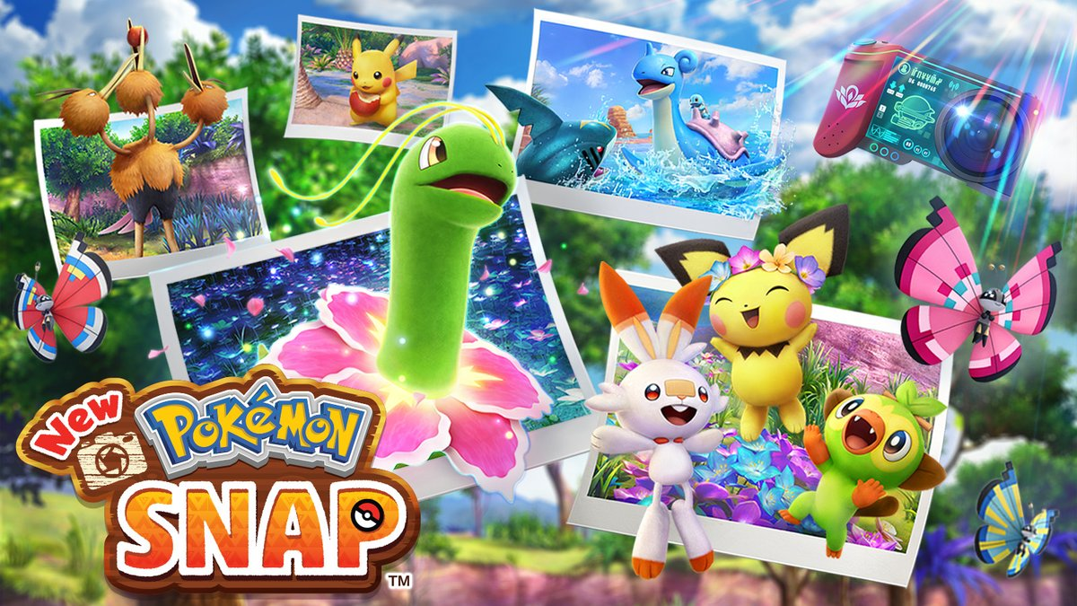 Welcome to the Lental region, your destination for adventure in #NewPokemonSnap! Venture from island to island on an ecological survey, building your Pokémon Photodex as you observe wild Pokémon in their natural habitat. New Pokémon Snap arrives on 4/30!