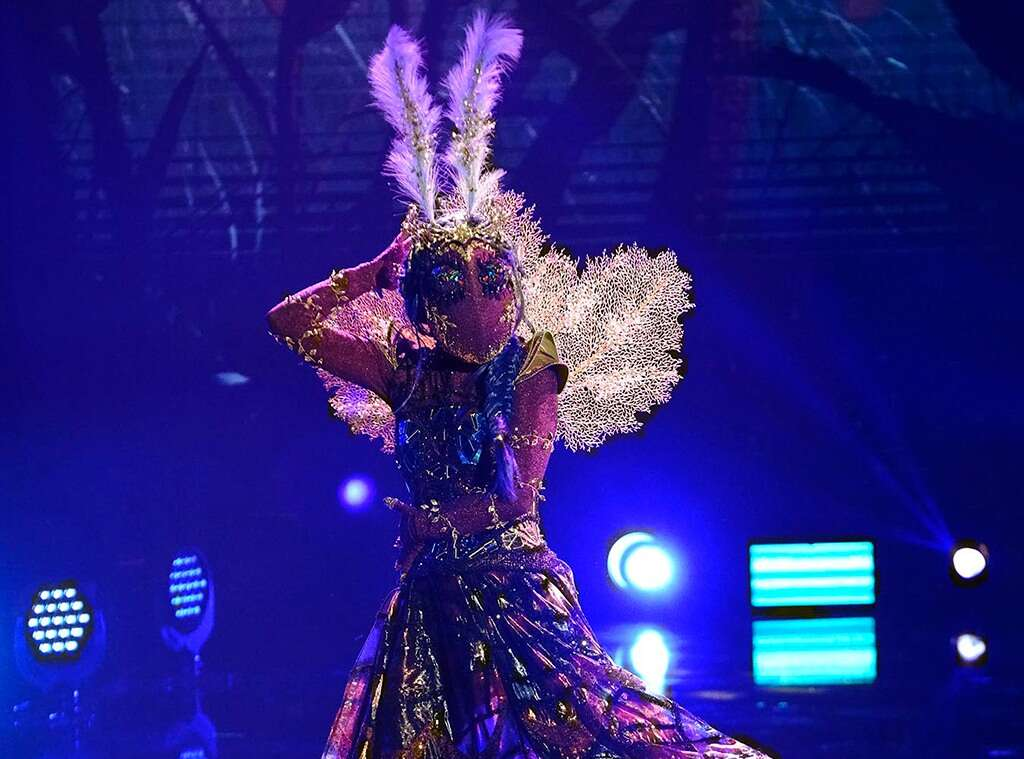 Metamorphosis: 'Masked Dancer' Moth revealed to be famous activist, advocate, abduction survivor Photo