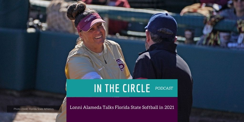 Can you feel it in the air? College Softball is near.... Right now on a new episode of @InTheCircleSB we are joined by @FSU_Softball Head Coach @Coach_Alameda as she shares her thoughts on the upcoming season. Listen now: wp.me/p3xSE1-1xYr