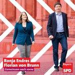 Image for the Tweet beginning: Sehr gute Nachrichten für @BayernSPD.