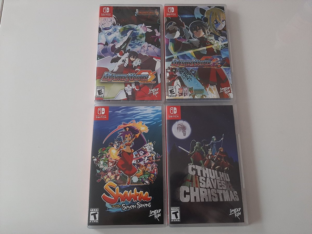 Here are some @LimitedRunGames  I have received lately! Now most of my preordered games have arrived! #SwitchCorps