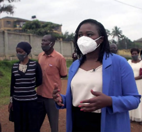 'We want peace' voters tell @cathkemi as they wait to cast their ballots in the Ugandan elections.
