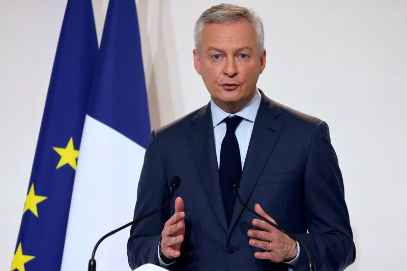 France's Le Maire: Trade detente is my priority for Biden administration