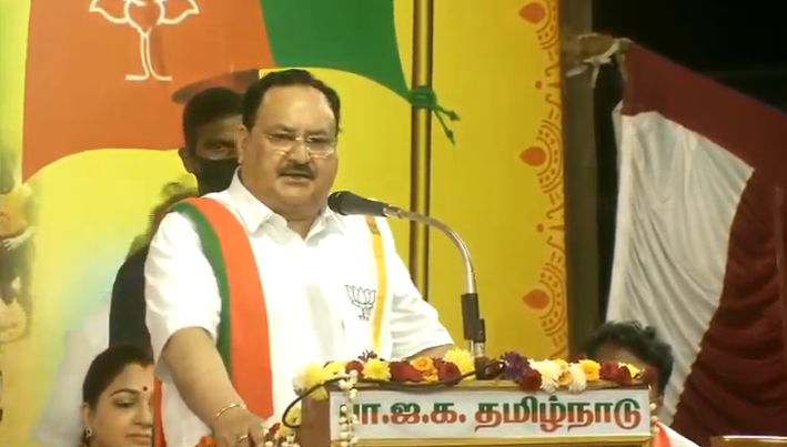 This is a festival of farmers who have taken care of us and the whole country celebrates it. However, it has special meaning in Tamil Nadu.  It is a land of saints where I bow to the sages who've contributed to humanity.  - Shri @JPNadda   #WelcomeNaddaJi
