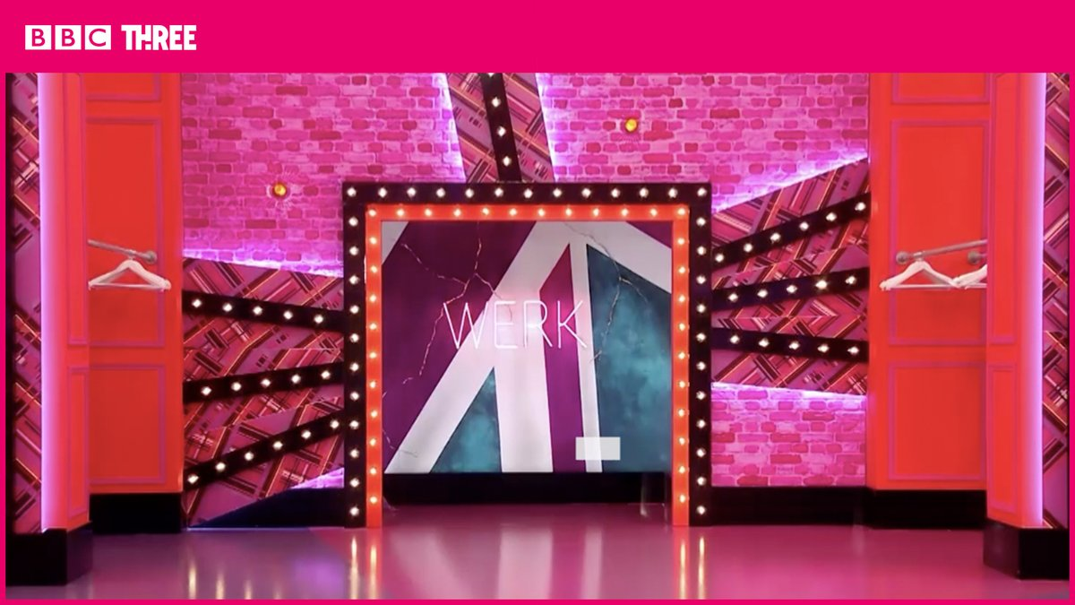 Replying to @dragraceukbbc: This is every single #DragRaceUK series 2 werkroom entrance.  Iconic, all of them. 😍