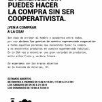 Image for the Tweet beginning: Desde La Osa Cooperativa, nos