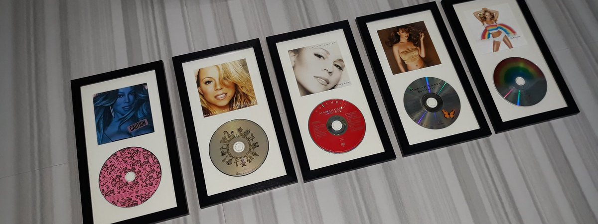And then there was five. 😭🥺 They're so beautiful chile! #MC30 #MariahCarey