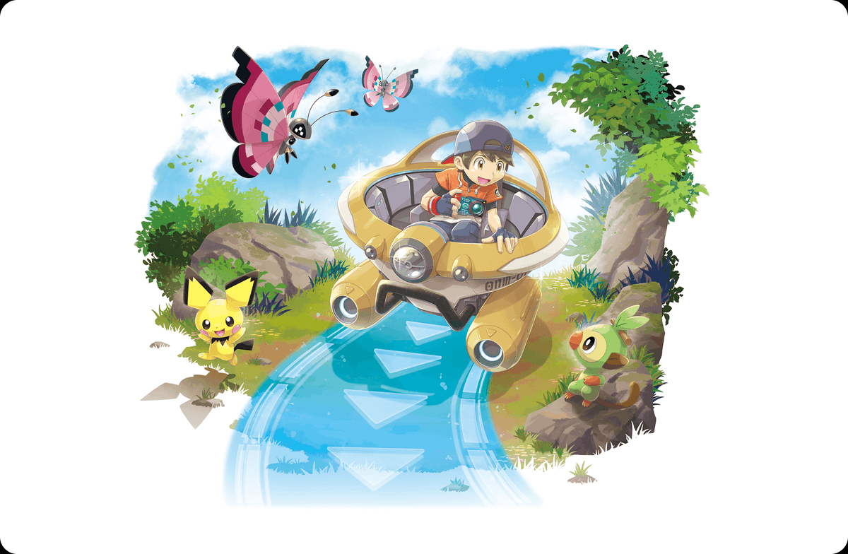 Serebii Picture: Several pieces of artwork from New Pokémon Snap