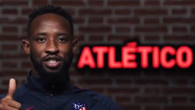 "🔴⚪ ¡ #BienvenidoDembélé !  🤩 ¡Las primeras palabras de@MDembele_10 como atlético! 🎙 ""𝘌𝘴𝘵𝘰𝘺 𝘮𝘶𝘺 𝘧𝘦𝘭𝘪𝘻, 𝘦𝘴 𝘶𝘯 𝘨𝘳𝘢𝘯 𝘥𝘦𝘴𝘢𝘧𝘪́𝘰 𝘱𝘢𝘳𝘢 𝘮𝘪́""  🏧 #AúpaAtleti"