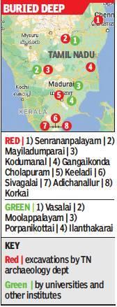 Tamil Nadu to dig for treasure at 3 more sites  via @TOIChennai