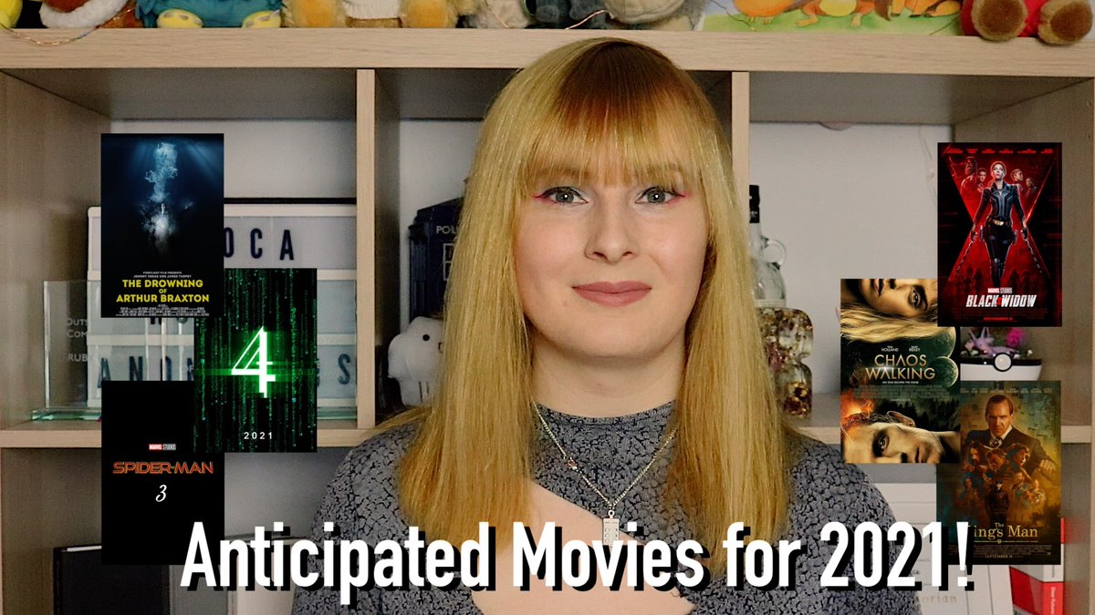 From #ChaosWalking to #Matrix4, there's loads of fantastic looking movies scheduled for release this year!  In my #NewVideo, I'm listing the ones I am most anticipating!