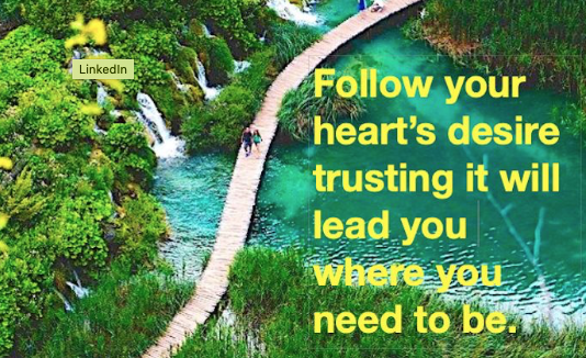 Thursday Thoughts -Trust your heart because it is connected to the universe. #selflove #empowerment #inspirational  #PositiveVibes #thursdayvibes #ThursdayThoughts #thursdaymorning #Wisdom