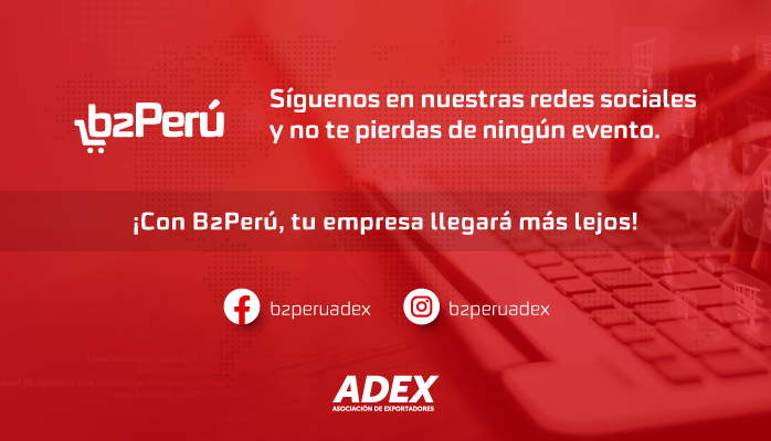 📣¡¡Sigue las redes sociales de #b2Perú 🇵🇪 y sé parte de los eventos virtuales más importantes!! 👇 💪💻 FB: https://t.co/Rk8BkxceaO IG: https://t.co/TsDio14sKh https://t.co/ctcBe3vdDr
