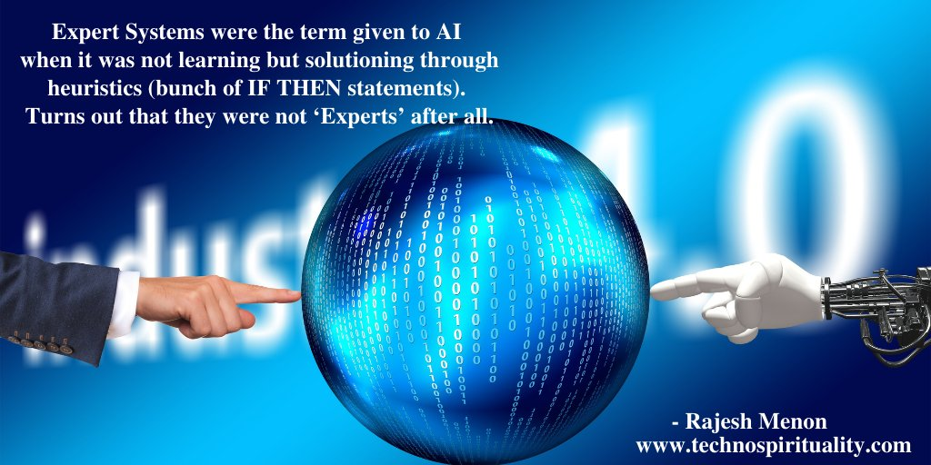 """Today's AI have arrived as compared to the expert system's of the past.""  #ai #expert #system #tech #technology #IT #program #technospirituality #quote #quotes #thursday #thursdaythoughts #thursdayvibes"
