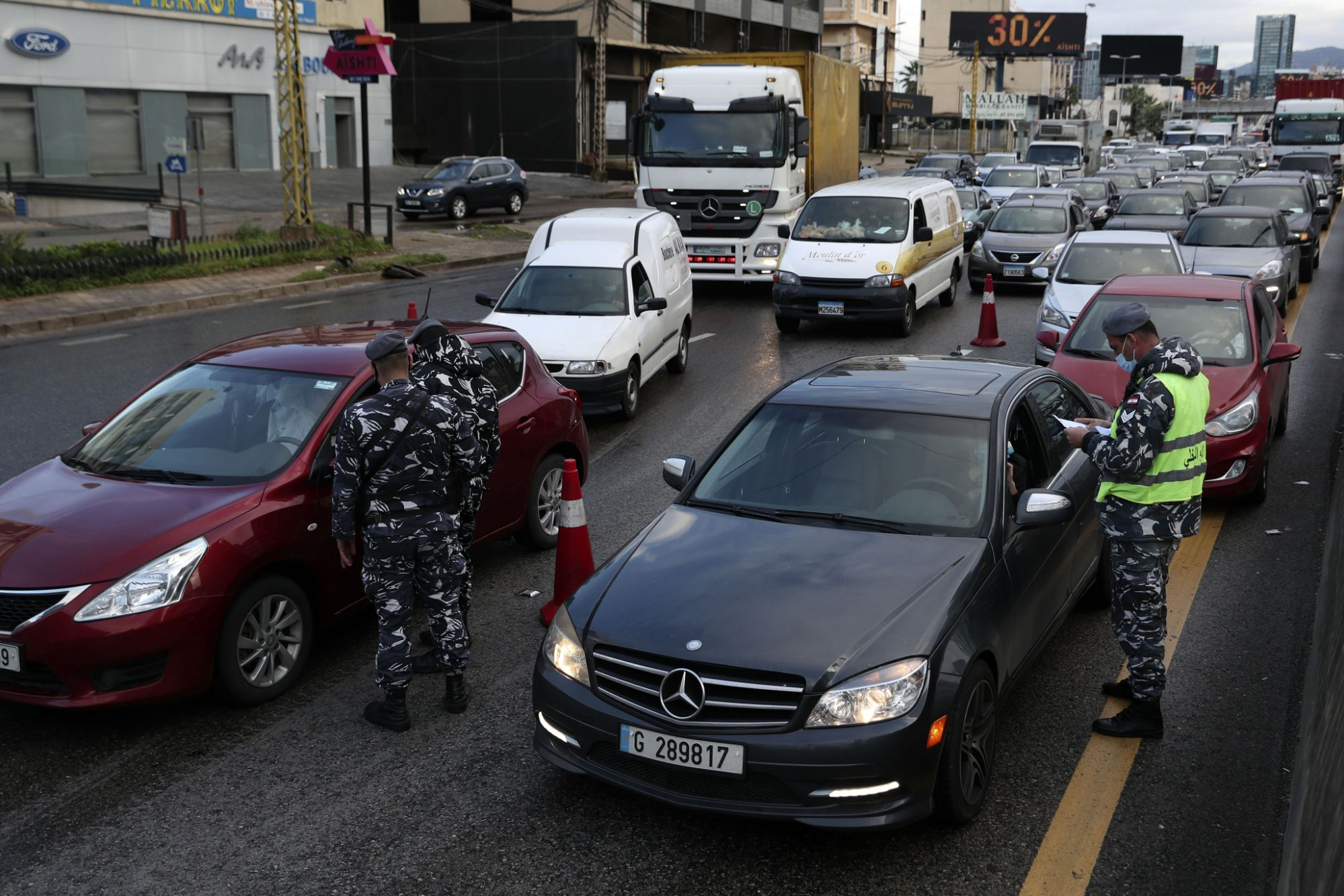 Lebanon begins all-day curfew as virus spins out of control Photo