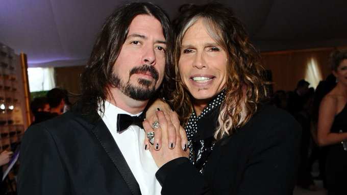 Happy birthday Dave Grohl, here he is with his Mam.
