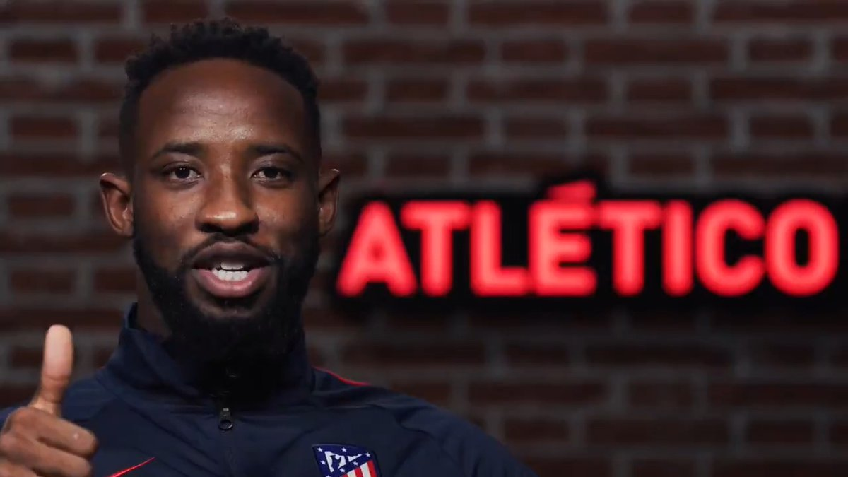🔴⚪ #WelcomeDembélé  📹 @MDembele_10's first interview as an Atleti player!  ❝I'm over the moon to be here and can't wait to start.❞  🏧 #AúpaAtleti