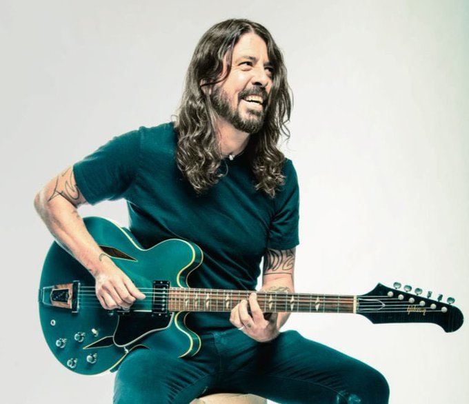 Happy Birthday to the man himself, Dave Grohl. Today should be a national holiday.