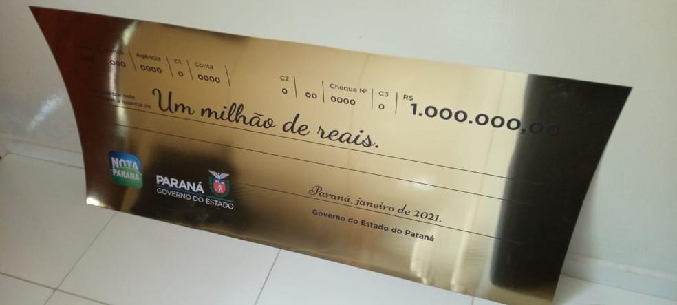 Ganhador de R$ 1 milhão do Nota Paraná é encontrado: 'Achei que era trote', diz sorteado  #G1