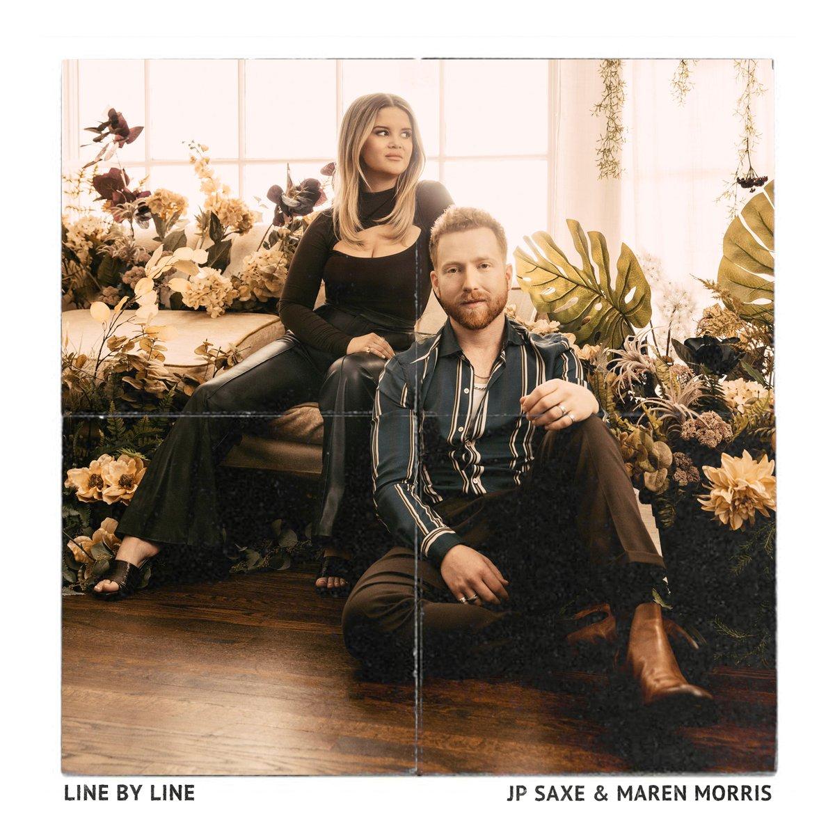 ".@jpsaxe and @MarenMorris drop new single ""Line By Line"" https://t.co/JRgAwLkYnV https://t.co/rf5jiQF0bK"