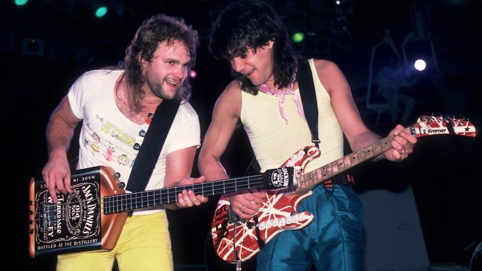 ❤️Ed and Mike🧡 #VanHalen #michaelanthony #eddievanhalen #themightyvanhalen #vanhalenarmy #thursdaymorning #thursdayvibes #ThursdayThoughts #thursdaymood #throwbackthursday #ripeddievanhalen #Thursday #ThursdayFeeling