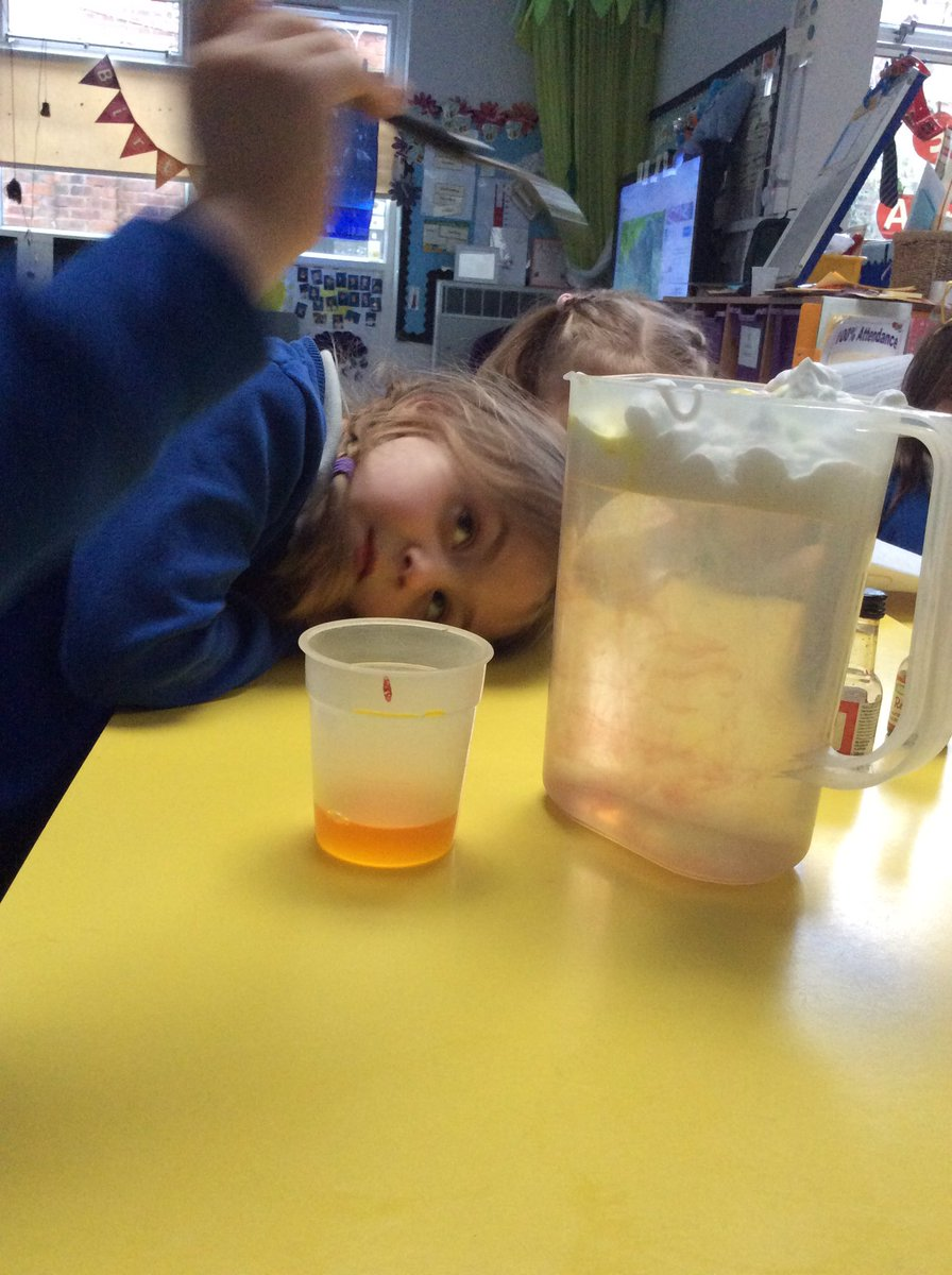 #GSPSScience is all around ... well done reception.