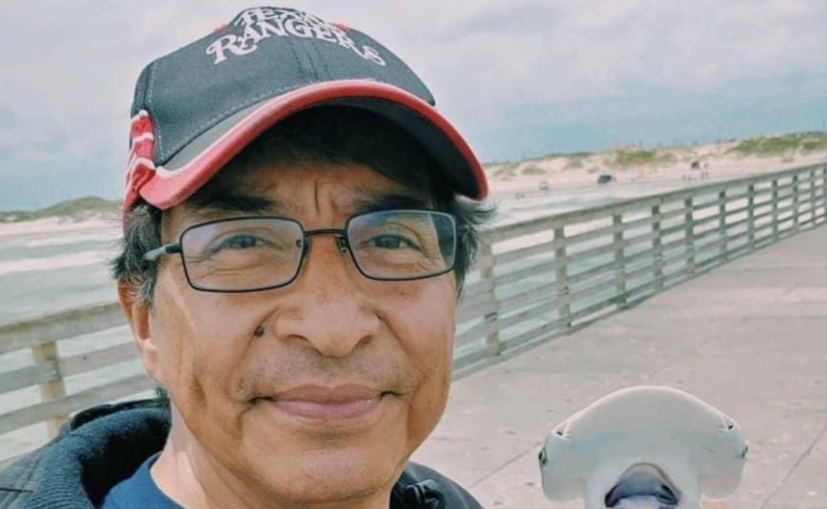 "CARLOS IRUEGAS, 60 of San Antonio died of COVID on Jan. 6.  ""Carlos was a dependable friend with an easygoing manner who was so in love with his wife Christine. He was also a doting father."""