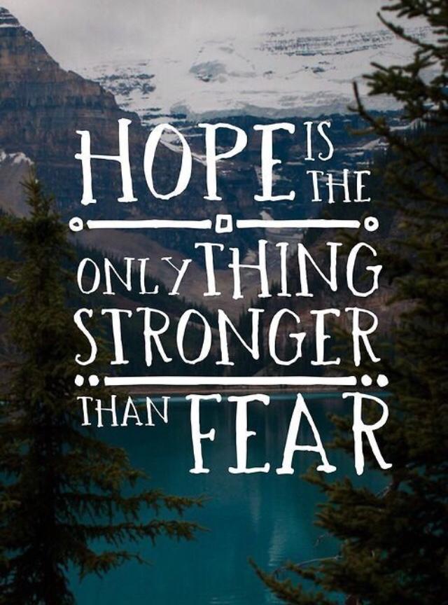 #thursdayvibes #hope #fear #ThursdayThought #ThursdayMotivation