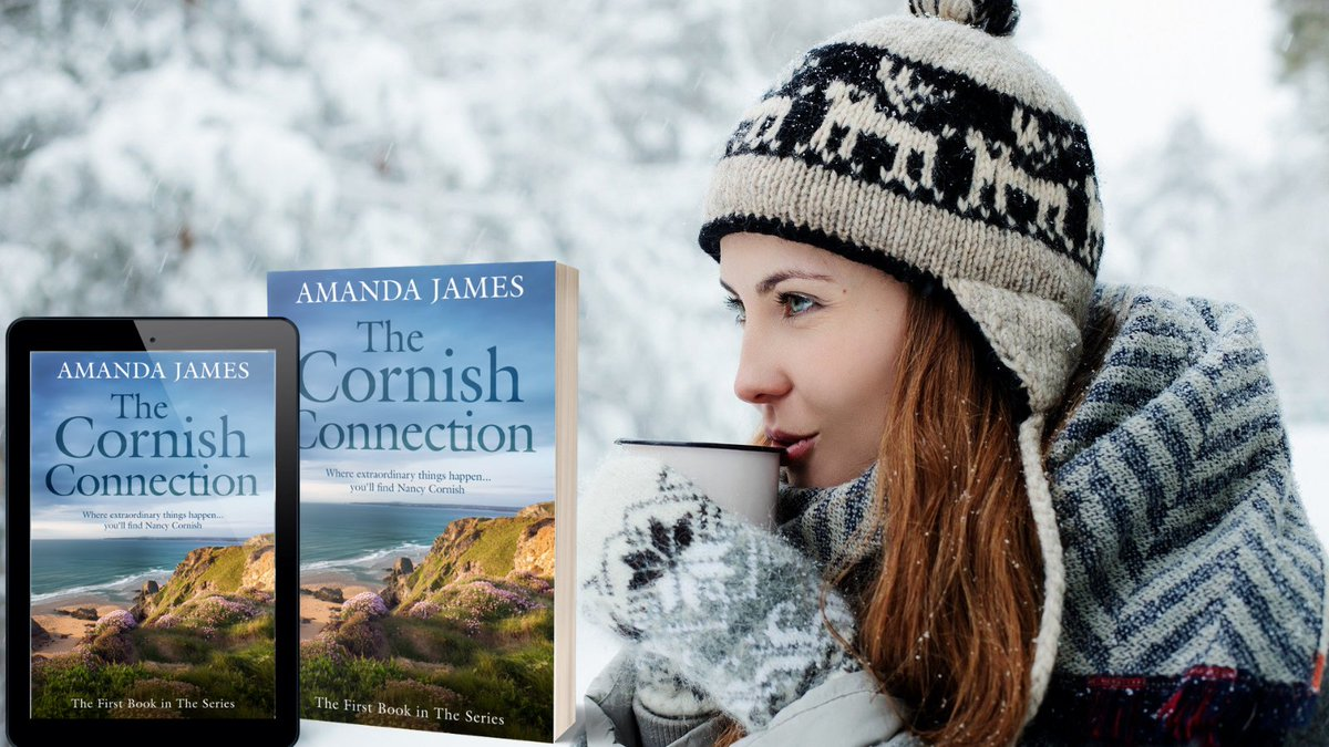 Curl up with a good book  this chilly #January day, and meet Nancy #Cornish.  An ordinary woman with an extraordinary secret!  ⭐️⭐️⭐️⭐️⭐️A compelling and unique series.   Books 1&2       #BookClub  #Cornwall #Thursdaythoughts #mystery