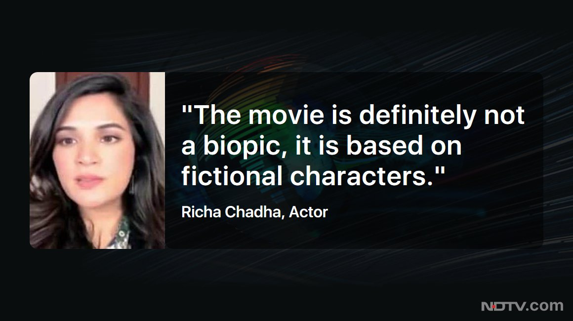 #LeftRightCentre | Actor @RichaChadha speaks to NDTV about her upcoming movie 'Madam Chief Minister'