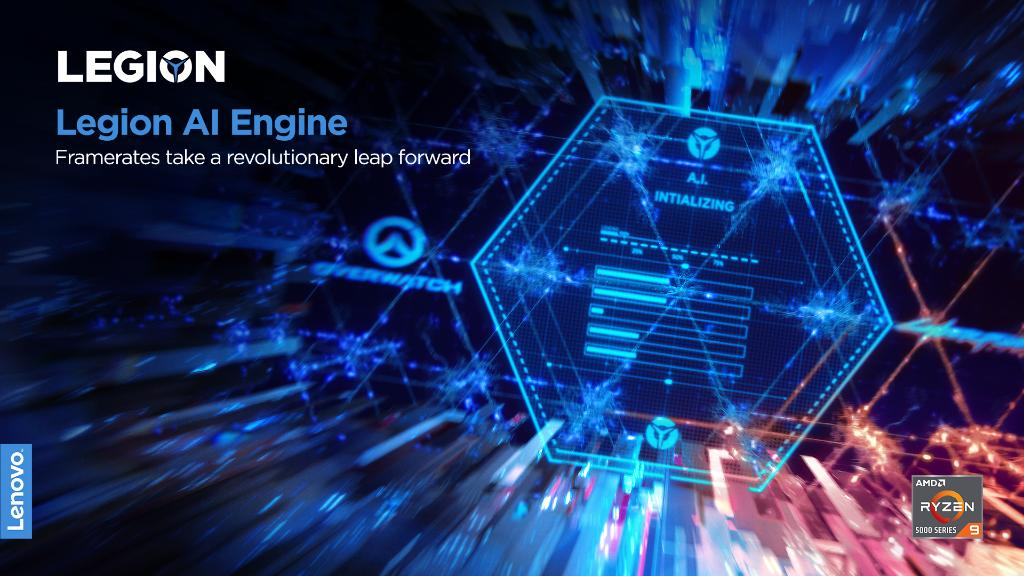 Play has never been this perfect.   The Legion AI engine intelligently identifies any game you launch, then optimally distributes CPU and GPU power to deliver you the highest possible refresh rates.   #PoweringTheImpossible  #CES2021 #LenovoCES