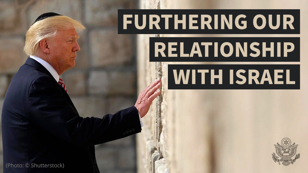 America has no greater friend than Israel, and the people of Israel. https://t.co/sjP4gjWgsK