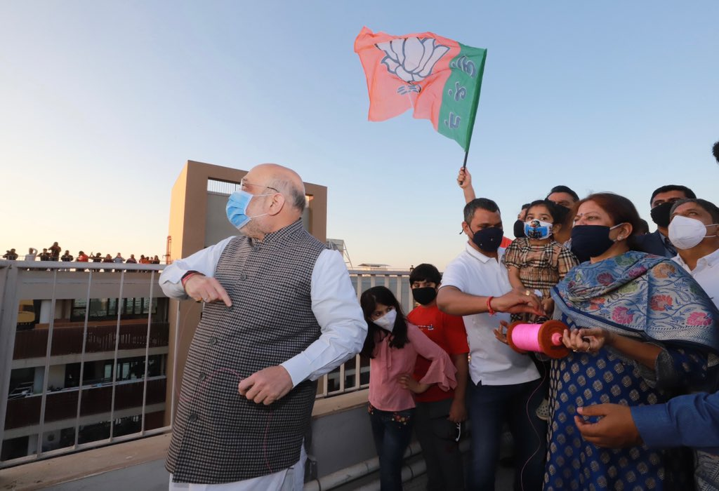 You cannot resist flying kites when it's Uttarayan and you are in Gujarat!  Celebrated Uttarayan in Ahmedabad. Sharing some pictures.