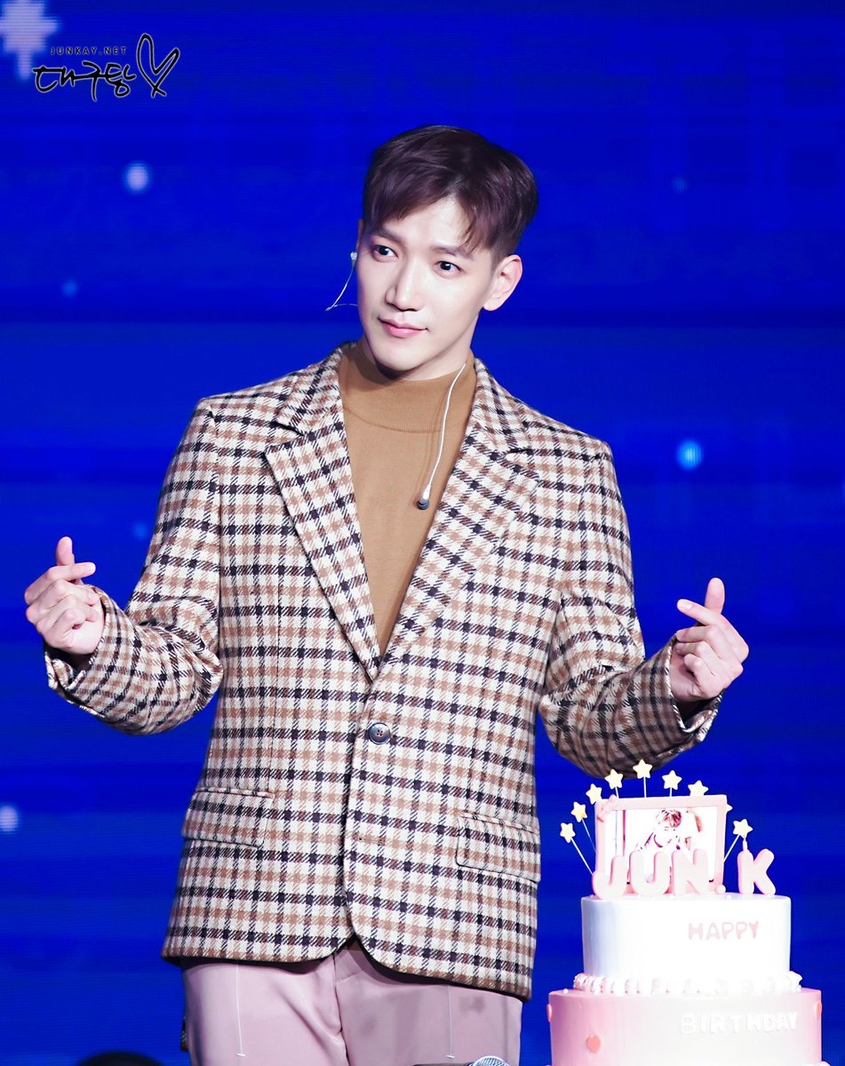 Happy Birthday to our forever young boy, @Jun2daKAY🎂💖  You r truly one of a kind and ur heart is made out of pure gold. I pray that u have a great success in this life & may u have a wonderful year filled with lots of love, happiness & good health.💖 #달토끼_민준_지구로내려온날