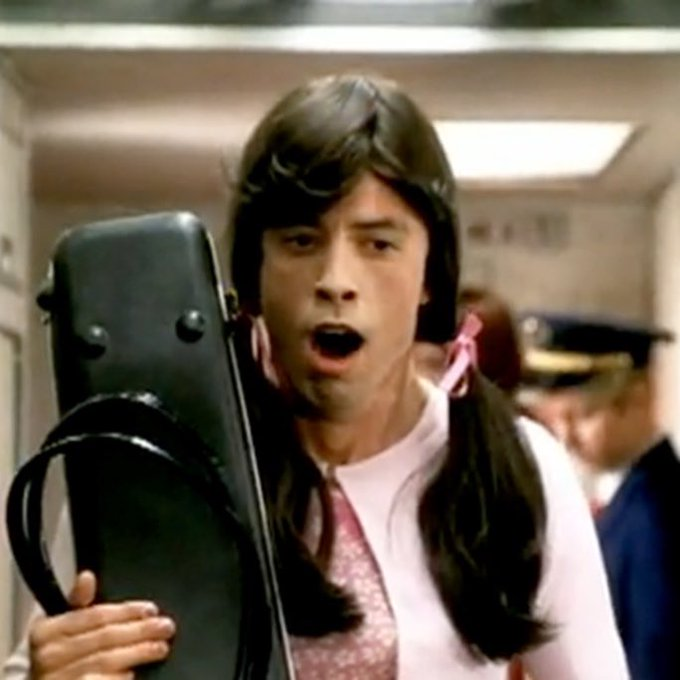 Happy Birthday Dave Grohl - Master of disguise.
