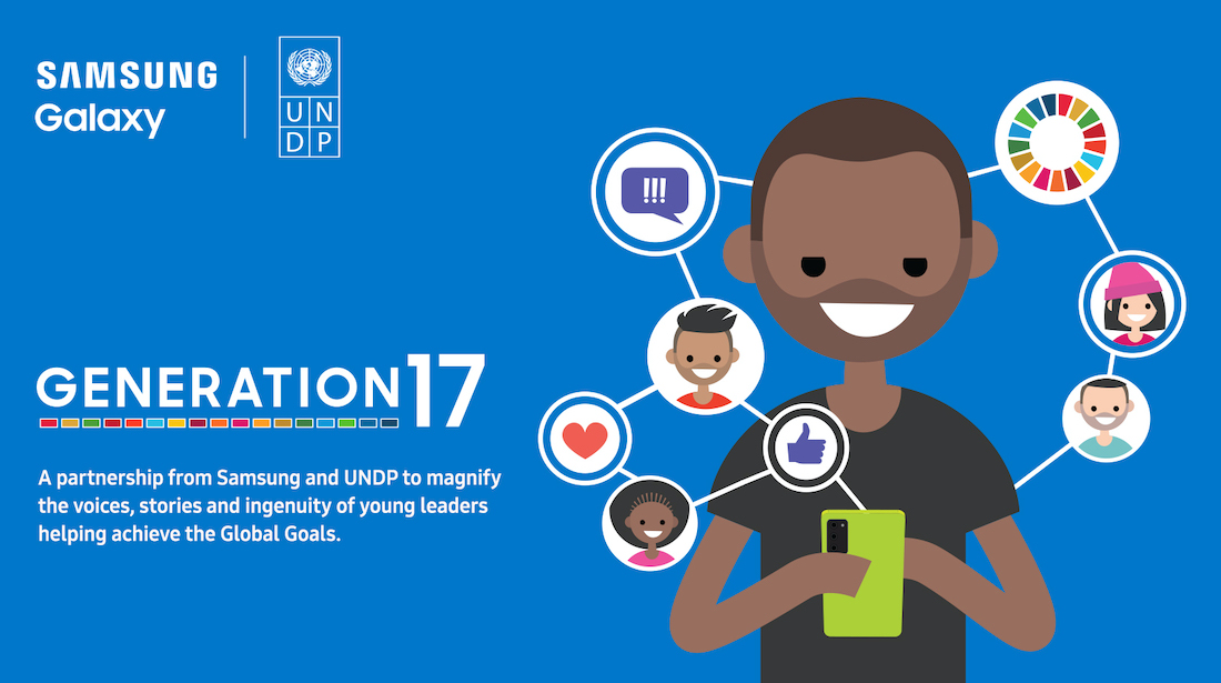 With @SamsungMobile, we've expanded our innovative partnership to support 4 inspiring #SDG advocates who have been mobilizing communities all over the world to make change happen. Learn more about our #Generation17 initiative:  #SamsungUnpacked