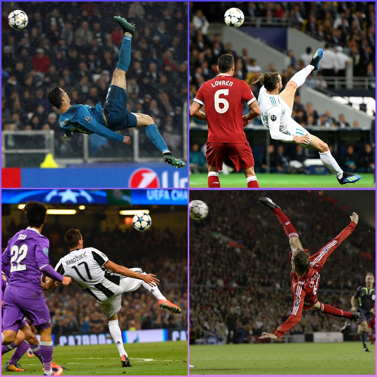 🤩 THREAD: Enjoy a selection of great acrobatic goals in Champions League history...  😎 Tell us which is your favourite!   #UCL