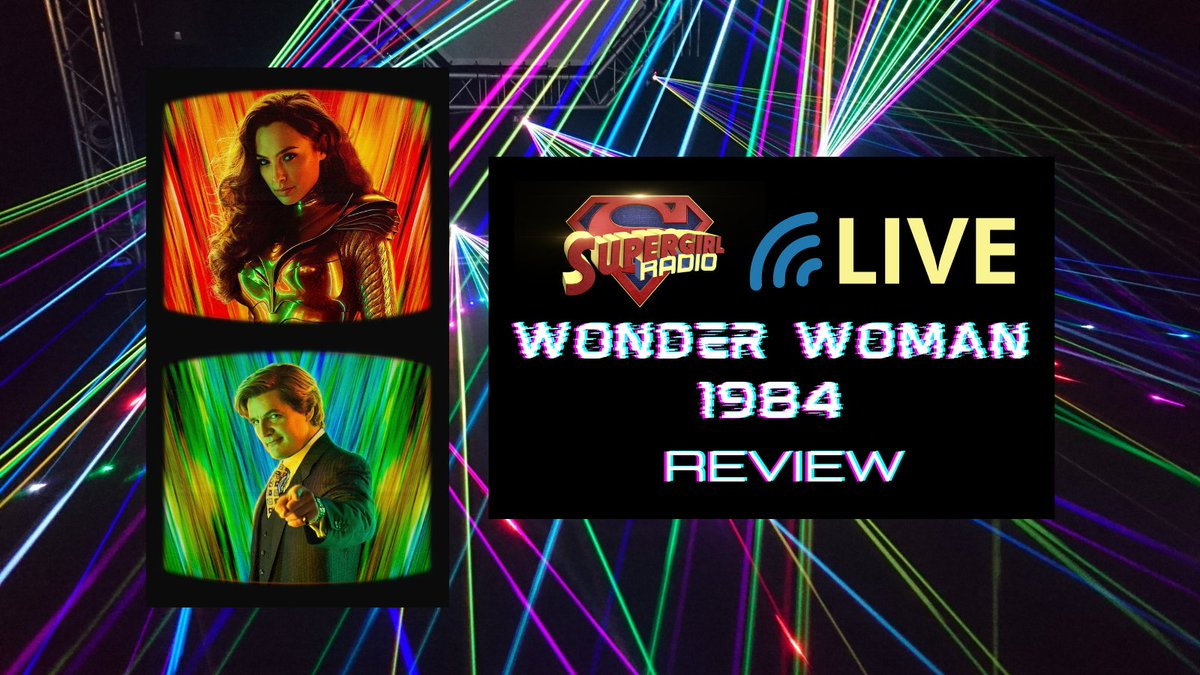 🎧 : In this LIVE [and WIRED] episode of @SupergirlRadio, Morgan Glennon and Rebecca Johnson compare Peter Facinelli's Maxwell Lord to Pedro Pascal's Maxwell Lord and review Patty Jenkins' 🎥 film, #WonderWoman1984!  🔗 :    #WonderWoman #WonderWoman84