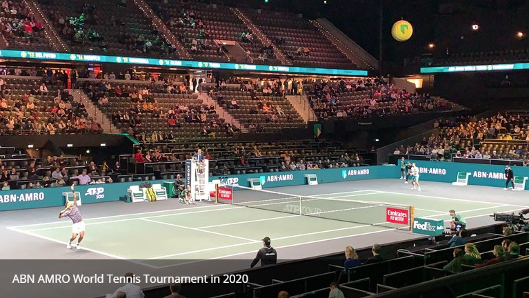 ABN AMRO World Tennis Tournament schuift tickets 2021 door naar 2022:  #ATPtour #ATP #Rotterdam #abnamrowtt #tennis