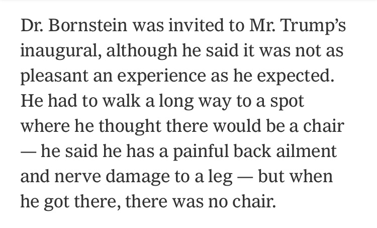 Whenever Dr. Bornstein's name came up in the last few years it would make me think of this anecdote from 2017 that seemed so telling — both in terms of who they were and what their relationship must have been like https://t.co/BuYNiJcKCj
