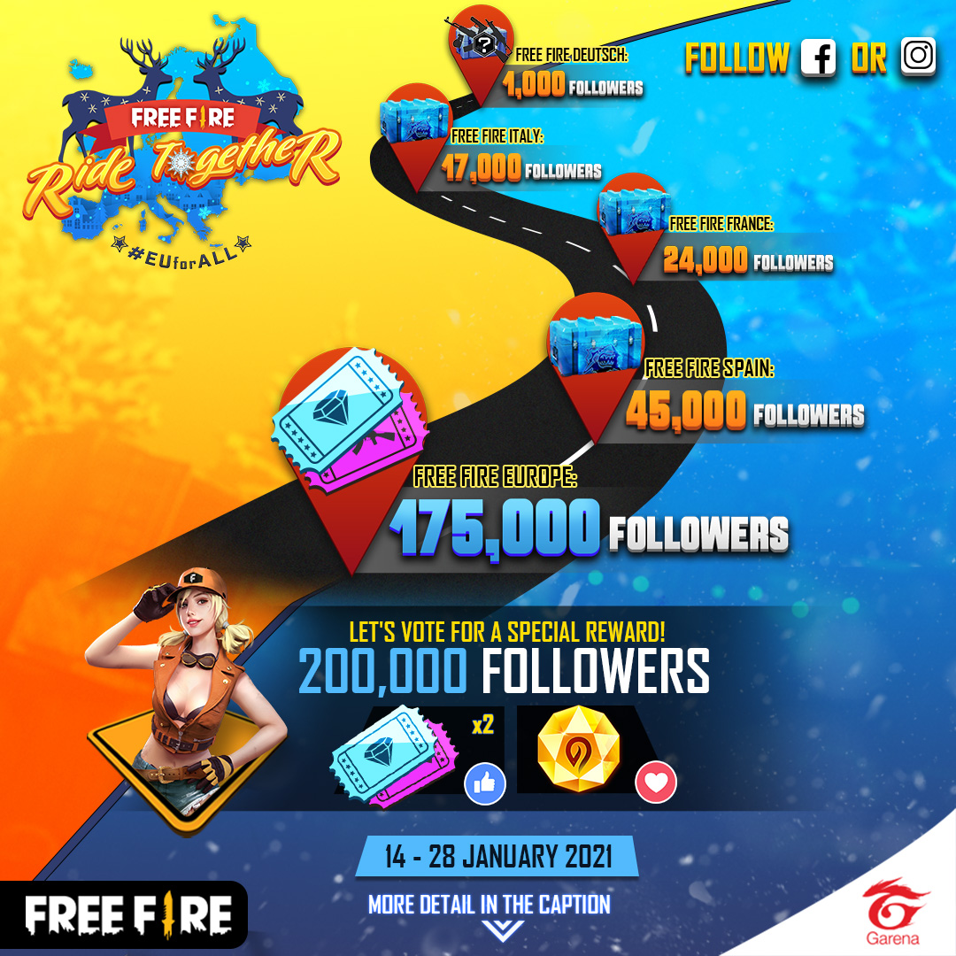 Free Fire Europe Official Freefireeu Twitter