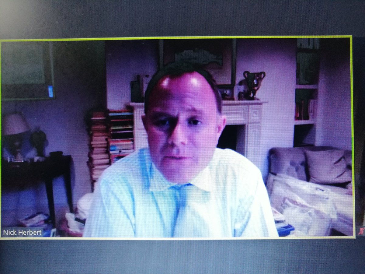 #TBPoliticalAdvocacy #Webinar  Lord Herbert: TB has always struggled with political will, we need parliamentarians to commit more. SA has made tremendous efforts to rally politicians behind TB response.