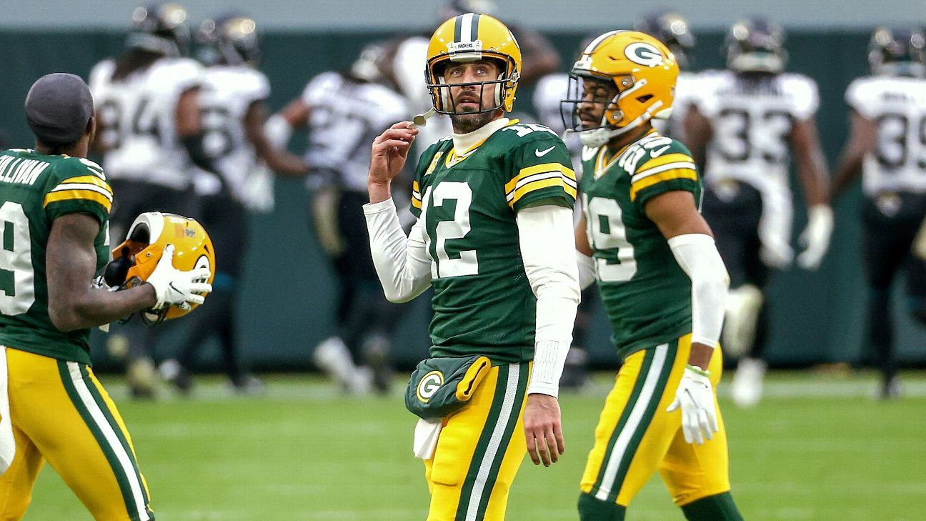 Aaron Rodgers has just 89 picks in 6,587 passes -- and he hates every one of them Photo
