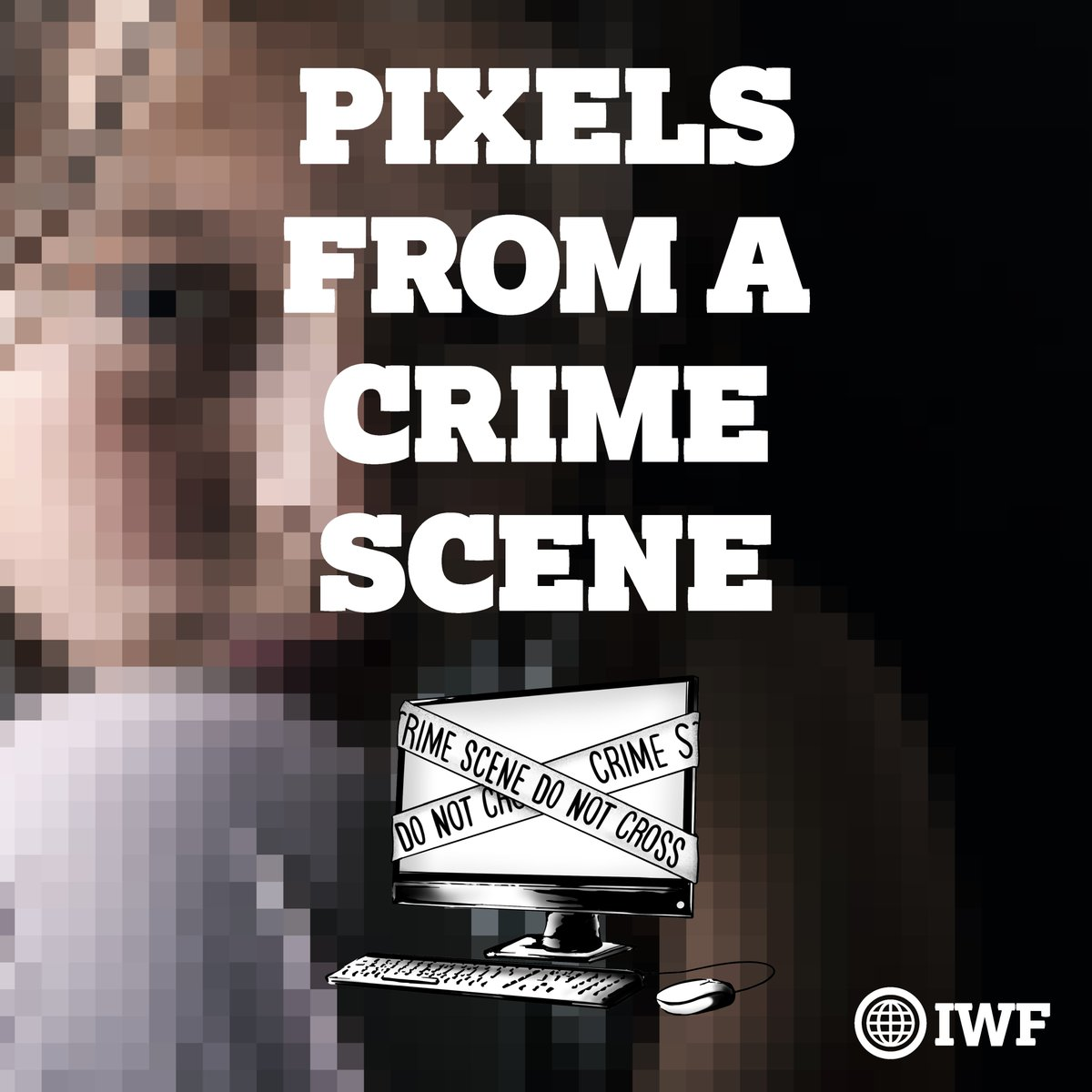 TW Our partners @IWFhotline have launched a ground-breaking podcast series, #PixelsFromACrimeScene  Meet the people at the frontline of the global fight against online child abuse.   A difficult but incredibly important topic, for adult listeners only: